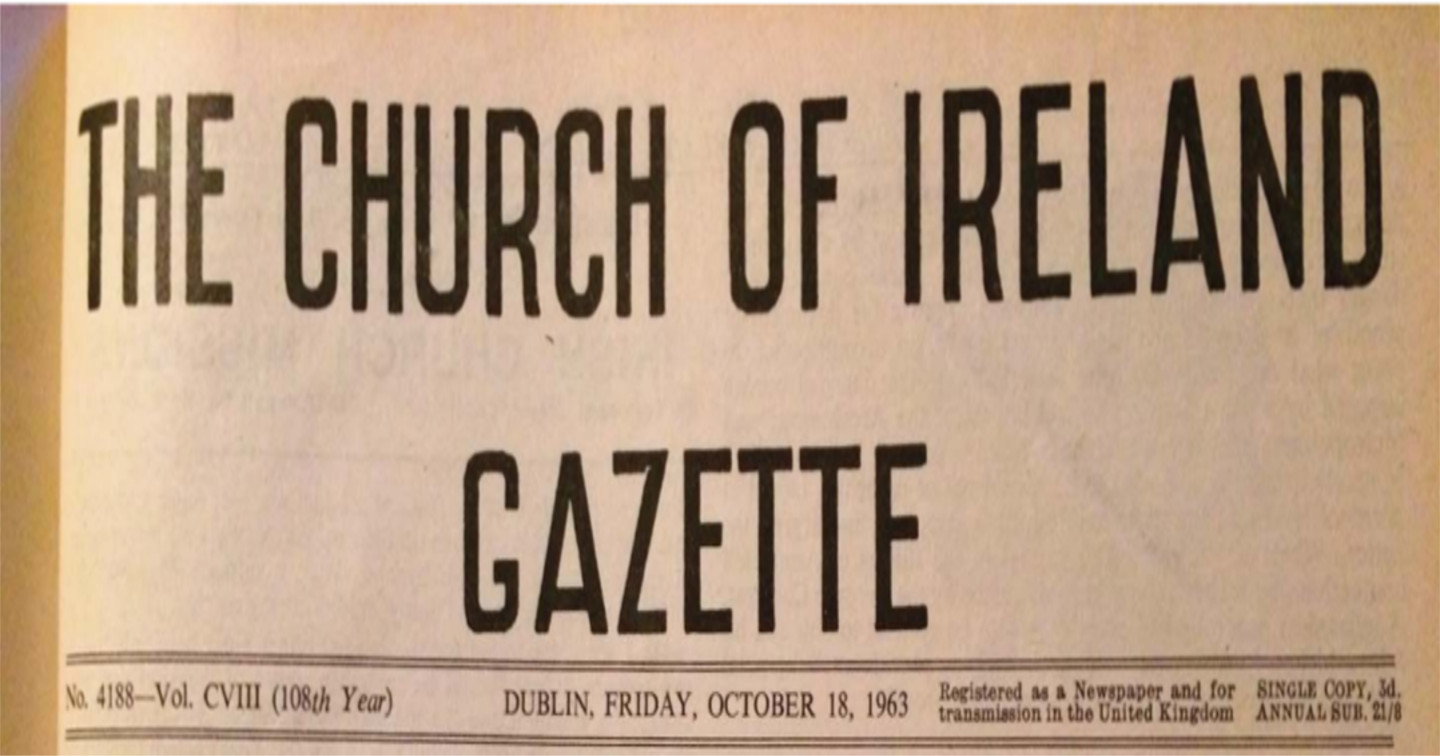 A Northern Ireland Perspective on the Gazette's Coverage of the 1960s