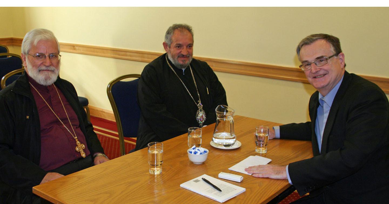 Online Gazette Interviews with Greek Orthodox