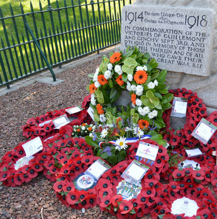 Service of Commemoration to mark the end of World War I