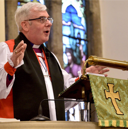 Bishop David is installed in Dromore Cathedral