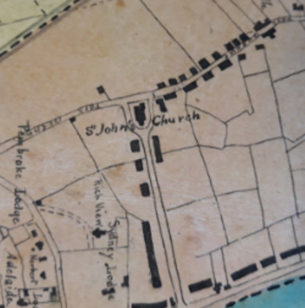 A Little Map with a Big Story - An early history of St John the Evangelist, Sandymount