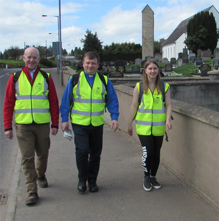 Rector to set out on 76–mile walk across Clogher Diocese