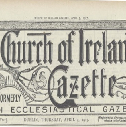 Headlines in April 1917: Further Focus on the Gazette