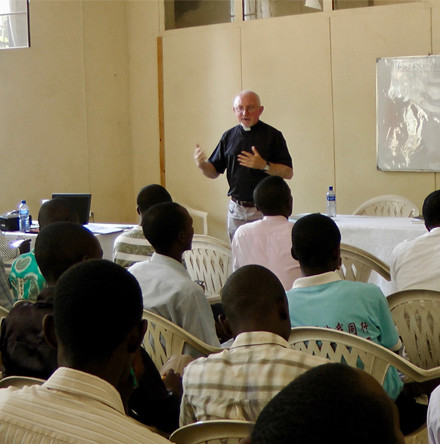 Archbishop of Dublin and CITI lecturer teach in Bujumbura