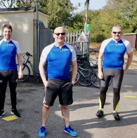Cork clergyman joins cycle in aid of Saint Luke's Charity and Home