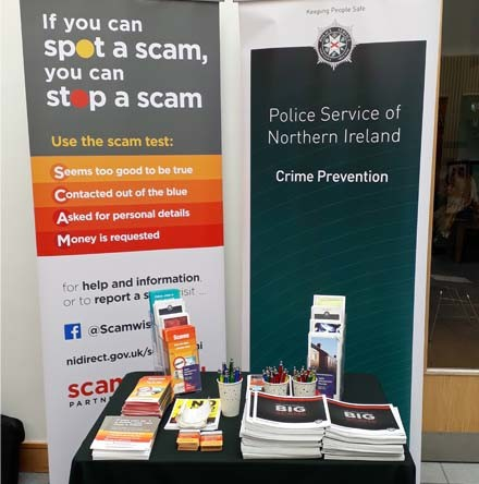 PSNI issue warning about upsurge in scams