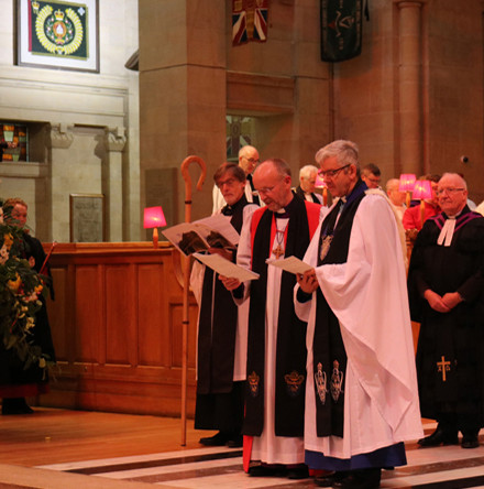 Dean Forde installed in St Anne's as 14th Dean of Belfast