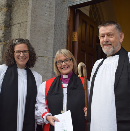 Edenderry Union welcomes new rector
