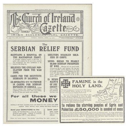 Headlines in April 1917: Further Focus on the Church of Ireland Gazette