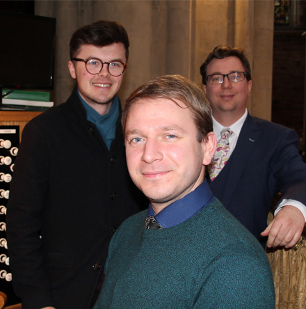 Assistant Organist takes up new post at Belfast Cathedral