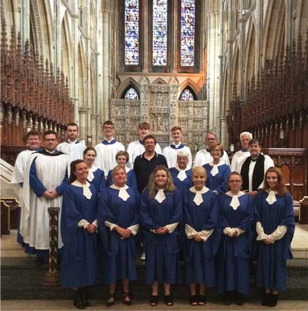 Another first for St Polycarp's choir as it leads worship in Truro Cathedral - By Clifford Skillen