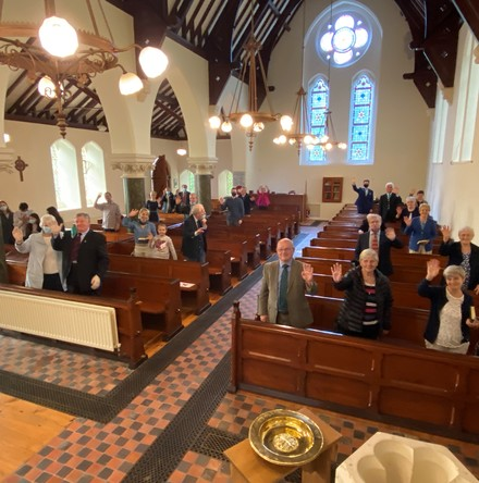 Returning to in–church worship in Kilmore and Inch