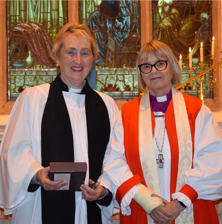 Ordination of the Rev Carol Hennessy