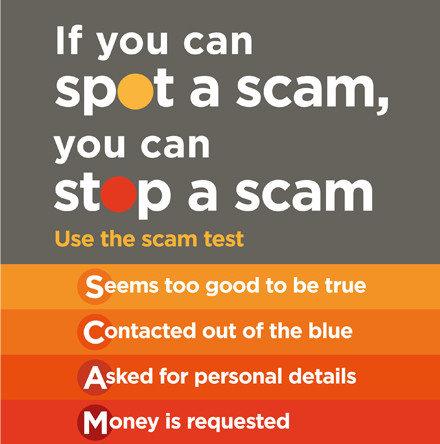 'Don't let the cold callers scam you'