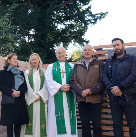 Garden of Remembrance at St Philip's, Milltown, offers space to reflect on loved ones
