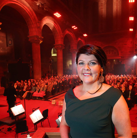 Belfast Cathedral a stunning backdrop for BBC concert