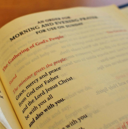 Follow Church of Ireland broadcast/online services with the Book of Common Prayer