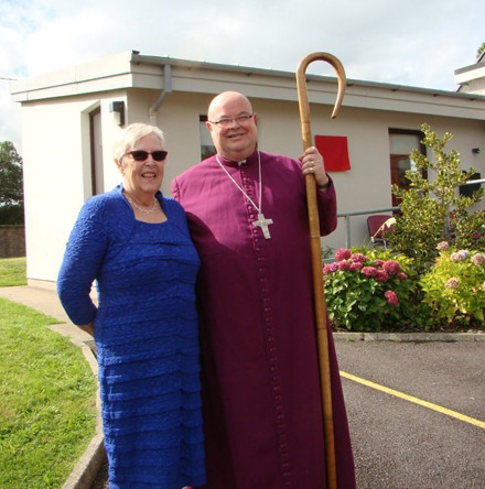 Bishop Colton dedicates and opens three extensions to Ballymoney National School, County Cork