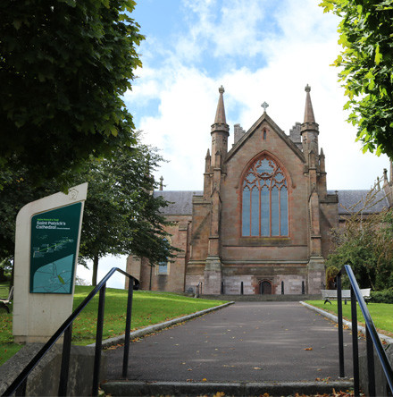 St Patrick's Cathedral, Armagh, to mark 750th Anniversary