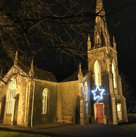 Cork churches keep Christmas lights on as a sign of 'the light of Christ in this hurting world'