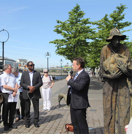 Migrants who have died in the Mediterranean remembered in Dublin on World Refugee Day