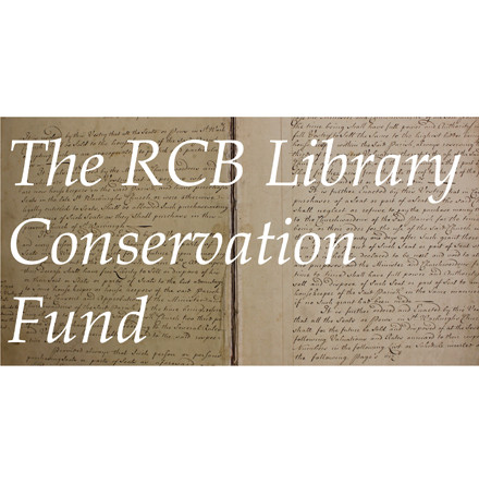 The Library Conservation Fund