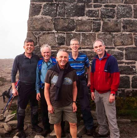 Coleraine hikers overcome Seven Sevens challenge
