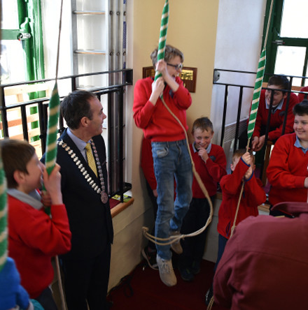 Cork Church of Ireland parish partners GAA and other local groups in new 'Sam Maguire School Tour' initiative