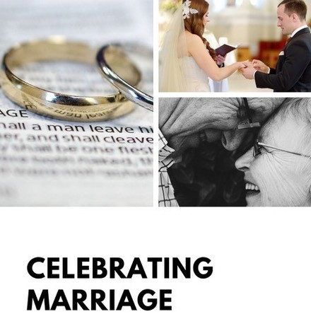 Celebrating Marriage: poster for parish websites and social media