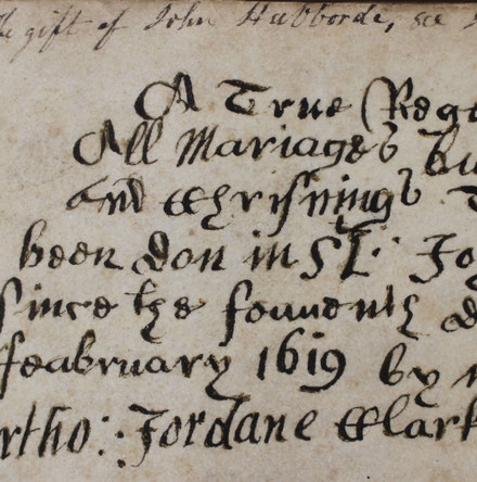 Earliest Parish Register in Ireland 400 Years Old This Month