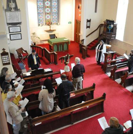 Anglican chant focus and rehearsal at Cork Church