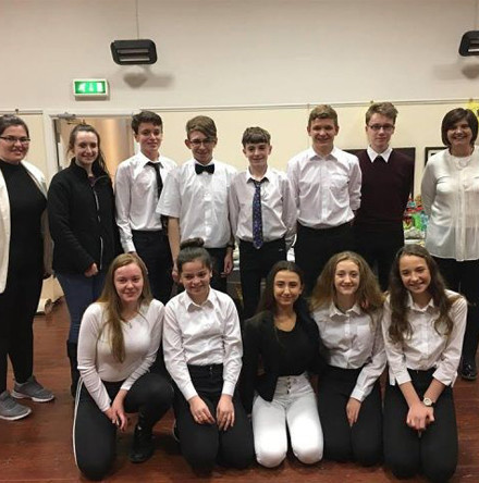 Young people of Rosscarbery host supper for Simon Community