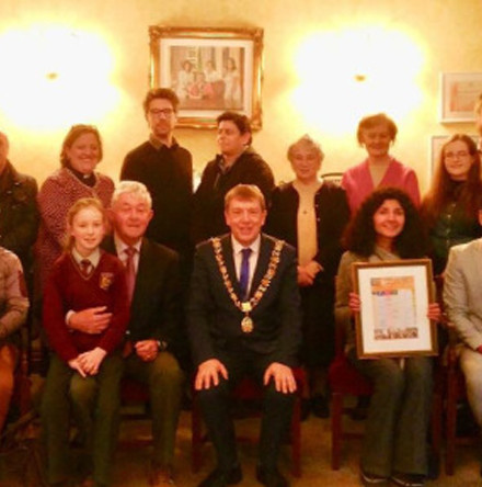 The Cork Three Faiths Forum – 2018 Calendar launched by the Lord Mayor of Cork