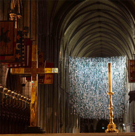 Cathedral's Armistice installation highlights catastrophic loss of life and futility of war