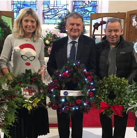 Festival of Wreaths marks season of Advent and Christmas