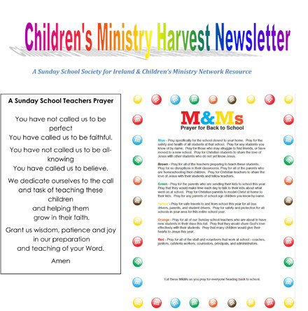 Children's Ministry Newsletter: Harvest 2017
