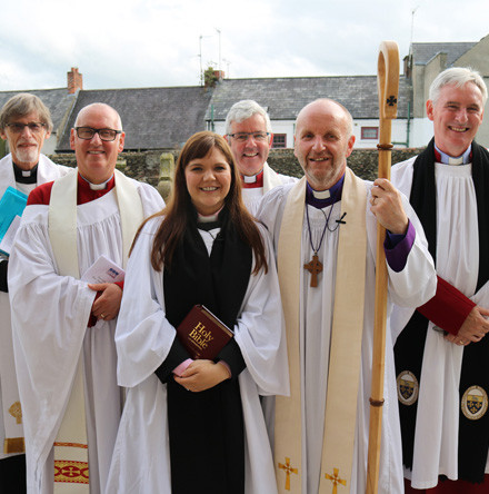 Ordination of the Rev Danielle McCullagh in Lisburn Cathedral