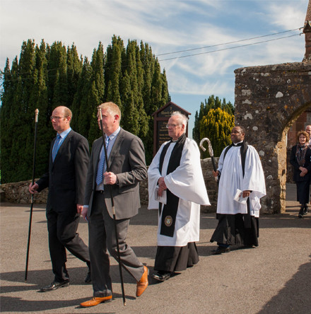 Bishop of Clogher dedicates new 'Grosvenor Wing' for Devenish Parish