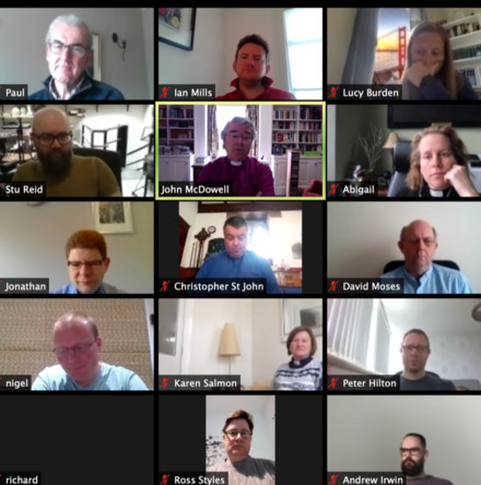 Continuing Ministerial Education concludes on Zoom - By the Revd Dr William Olhausen