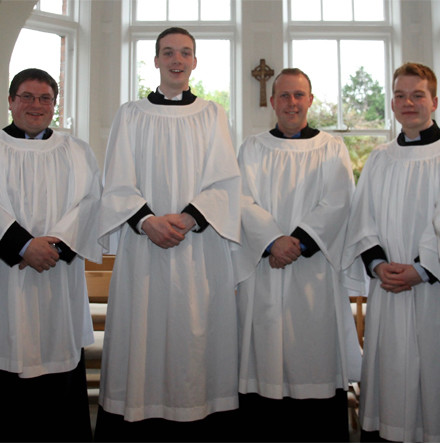 Student Readers commissioned in Theological College