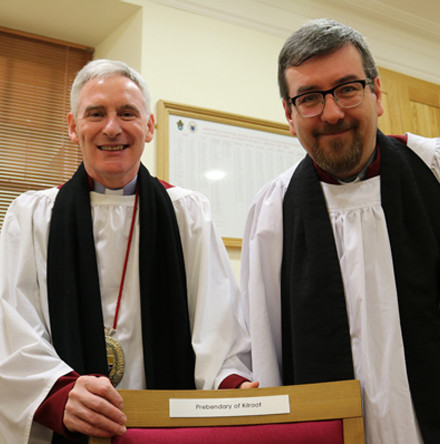 Installation of new Canon of Lisburn Cathedral