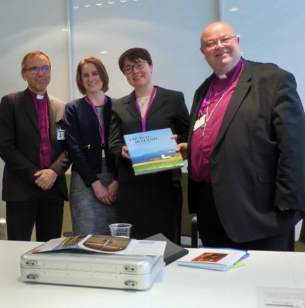 Cork, Cloyne and Ross Group visit Evangelical Lutheran Church of Finland