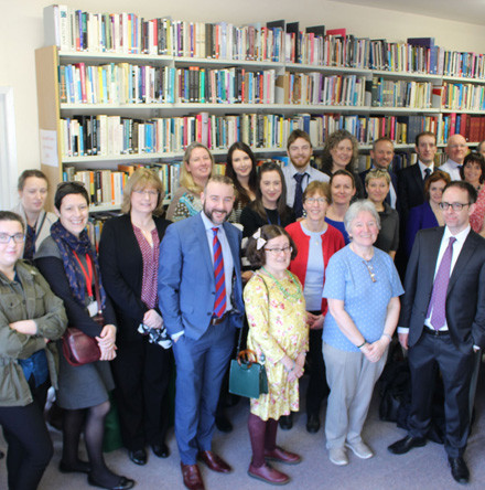 Church House staff explore RCB Library