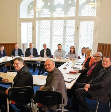 Church leaders and NI political leaders meet