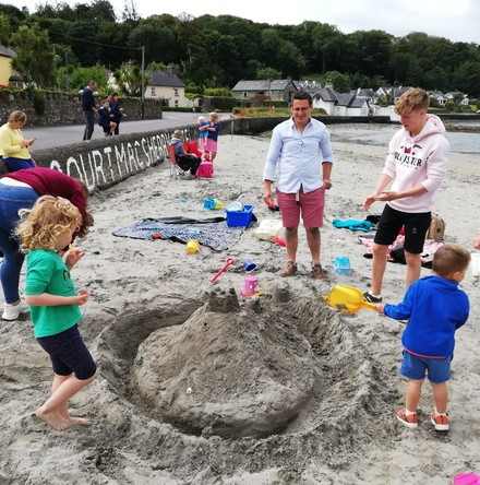 County Cork parish 'Preach on the Beach' makes front page news