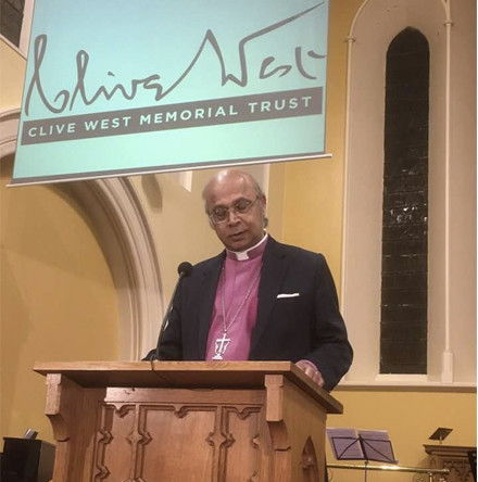 More than 180 attend lecture by Bishop Michael Nazir–Ali