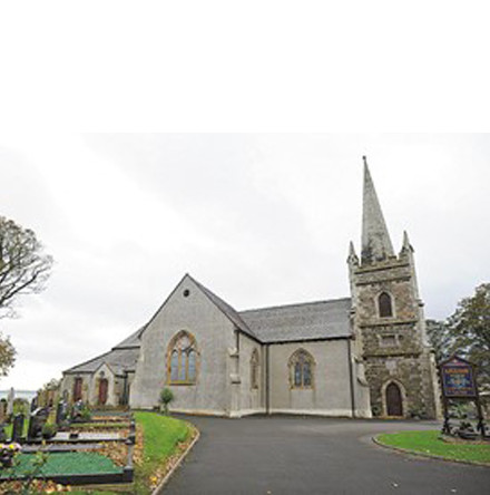 Unique video gives a bird's eye view of Killyleagh Parish Church