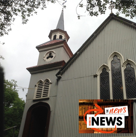 The Tin Church at Laragh, County Monaghan: More 'News Behind the News'