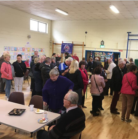 Grandparents' Day in Positive Ageing Week in St Mary's National School, Carrigaline