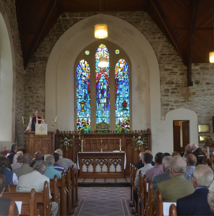 A time of 'transition and uncertainty' Bishop Good tells Dunfanaghy parishioners